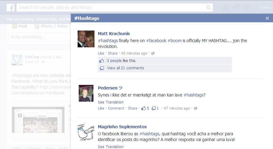 The Moo's News » Blog Archive » What's the Big Deal about Hashtags?